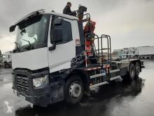 Kamión Renault Gamme C C460.26 AMPIROLL + GRUE hákový nosič kontajnerov ojazdený