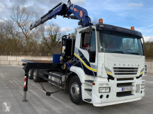 Camion Iveco Stralis transport utilaje second-hand