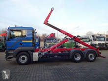 MAN hook arm system truck 26.400 Meiler Abrollkipper Krananschluss