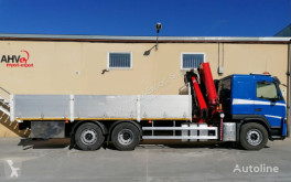 Volvo 340 6x2 FASSI 175 AÑO 2007 truck used flatbed