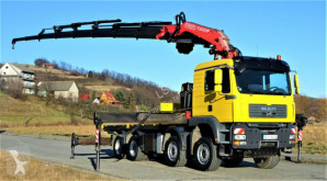 Camion MAN TGA 41.480 Pritsche 5,30m+Kran/FUNK*Top Zustand! plateau occasion