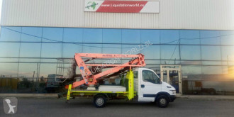 Camion cu nacela Iveco 35S 18 mt Oil Steel 189 boom lift truck