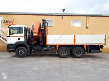 Kamión valník MAN 350 6x4 PALFINGER PK 44002 + JIB