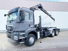 MAN tipper truck TGS 26.400 6x6H BL 26.400 6x6H BL, HydroDrive, Kran Hiab XS 111, Funk