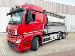 Camion citerne Mercedes Actros 2545 L 6x2 2545 L 6x2, Chemie Saug-/Spülwagen 17m³, Lift-/Lenkachse, Retarder