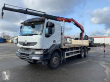 Camion Renault Kerax 430.26 DXI plateau occasion