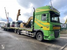 DAF flatbed tractor-trailer XF105