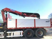 Vrachtwagen platte bak HMF 2620 K5 year 2014 Cran Kran