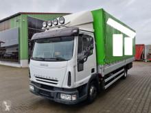 Iveco tarp truck 80E21 Pritsche/Plane 3-Sitzer