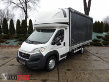 Camión lona corredera (tautliner) Fiat DUCATOSKRZYNIA PLANDEKA 10 PALET WEBASTO TEMPOMAT LEDY SERWIS A
