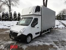 Opel MOVANOSKRZYNIA PLANDEKA WINDA 9 PALET KLIMATYZACJA TEMPOMAT WEB truck used tarp