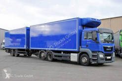 MAN refrigerated trailer truck TGS 26.400 6X2 Kühlkofferzug Schmitz Thermo-King