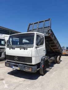 Mercedes 809 truck used three-way side tipper