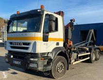 Camión Gancho portacontenedor Iveco Trakker 410