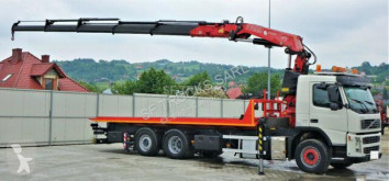 Volvo heavy equipment transport truck FM