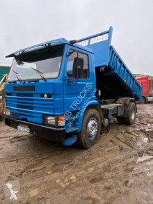 Scania two-way side tipper truck 112