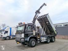 Vrachtwagen Ginaf X 3335S 6X6/4 - 3 WayTipper - Crane MKG 161 - Rotator (V331) tweedehands kipper