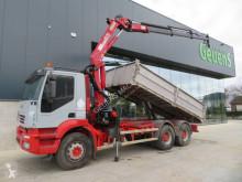 Vrachtwagen Iveco Eurotrakker tweedehands platte bak