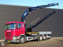 Vrachtwagen platte bak Scania G 490