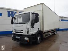 Ciężarówka Iveco Eurocargo 120 E 18 furgon furgon drewniane ściany używana