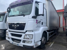 MAN TGS 26.360 truck used tautliner