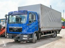Kamión valník s bočnicami a plachtou MAN TGL 12.250 Pritsche Hebebühne