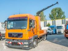 MAN dropside truck TGM 15.290 3 Sitze Pritsche Heckkran Hiab 088 E3