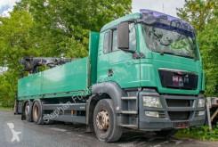 Camion platformă si obloane MAN TGS 26.400 6x2-2 BL Pritsche Hiab Kran XS 166 K-