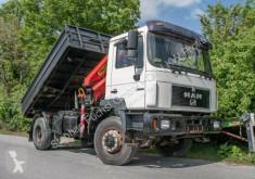 Camion benne MAN M2000 M 2000 18.264 AK Kipper Kran PK 11000