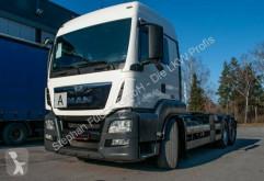 Camion MAN TGS 26.440 6x2 Abroller Hiab HN2010 multibenne occasion