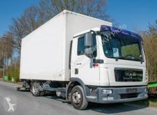 Camião MAN TGL 8.180 4x2 BL Koffer mit Ladegerät 1500kg furgão usado