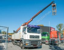 MAN dropside truck TGA 26.360 6x2 BL Baustoff Kran Terex TLC 145.2A