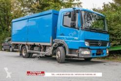 Mercedes Atego 818 Getränkekoffer Rolladen 145tkm! gebrauchter Kastenwagen Getränkewagen