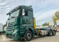Camion Mercedes Actros 2545 6x2 Abroller Palift T18 EURO6 dublu second-hand