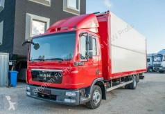 MAN tarp truck TGL 12.180 4x2 BL Pritsche Wingliner Aufbau Bär