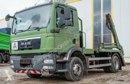 MAN tipper truck TGM 15.250 4x2 Absetzkipper Gergen Teleskob