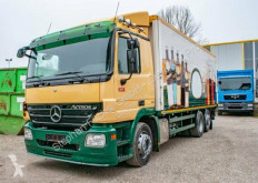 Mercedes Actros MP2 2536 6x2 Getränkeklappenaufbau truck used beverage delivery flatbed