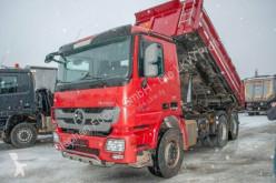 Mercedes three-way side tipper truck Actros MP3 2646K Kipper Carnehl Bordmatik