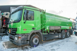 Mercedes tanker truck Actros 2541L 6x2 Tankwagen A3 3 Kammern