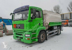 Camion MAN TGA TGA 18480 Esterer Tankwagen 14000l 2 Kammern cisternă hidrocarburi second-hand