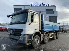 Mercedes two-way side tipper truck Actros 3241 8x4 Zweiseitenkipper Bordmatik rechts