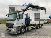 Camion plateau Mercedes Actros 2536 6x2 Hiab 099   Lenk-Liftachse