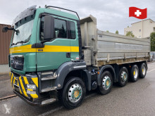 MAN three-way side tipper truck TGS tgs 35.440. 10x4