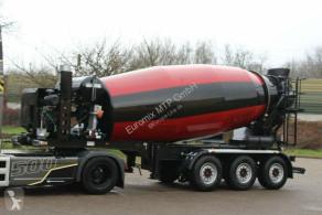 Concrete mixer concrete semi-trailer EUROMIX MTP 12m³ Betonmischer Auflieger