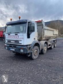 Camion Iveco Eurotrakker 410 benă transport piatra second-hand