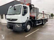 Renault Premium LANDER D. 370.26 E4 6X2 PLATEAU GRUE truck used flatbed