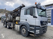 Camion MAN TGS 33.480 6x4 SZM Langholz Kran 7,5 m *Anhänger occasion