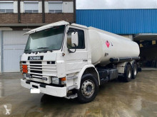 Scania M 113M truck used oil/fuel tanker