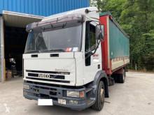 Camión tautliner (lonas correderas) Iveco Eurocargo 120 E 24 DK tector