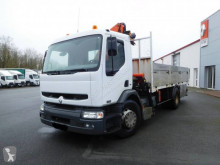 Camión caja abierta teleros Renault Premium 370.19